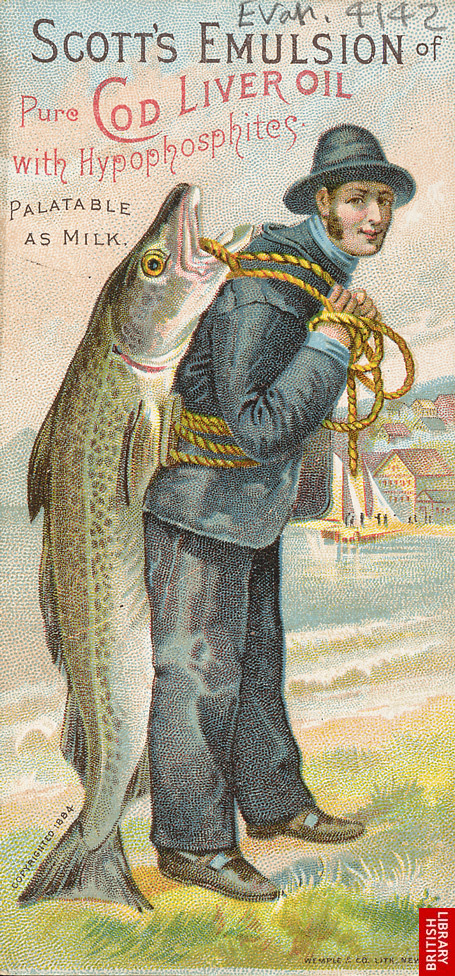 Advert for Scott's Emulsion of Pure Cod Liver Oil